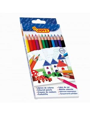 C/ 12 Lápices de colores Jovi