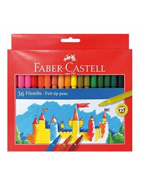 C/ 36 Rotuladores Faber Castell 554236
