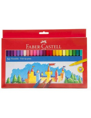 C/ 50 Rotuladores Faber Castell 554250