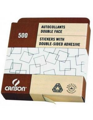 Caja 500 adhesivos para fotografia canson