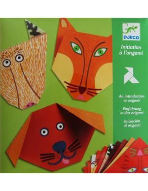 Papiroflexia Origami animales Djeco