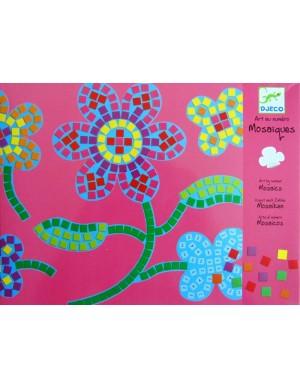 Mosaico Flores Djeco