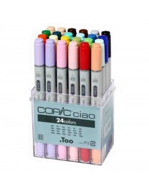 Set 24 rotuladores Copic Ciao