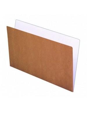 Pte. 50 Subcarpeta folio kraft Bi-color 240 gr.