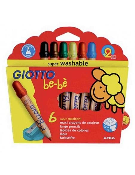 Estuche 6 lápices Gioto be-bé F469600