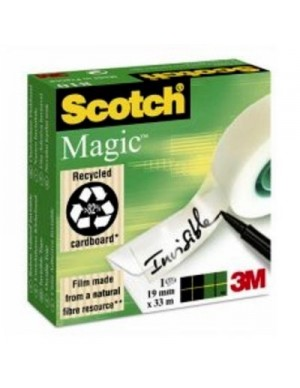Cinta adhesiva invisible Scotch magic 33x19