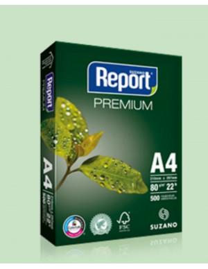 Papel A-4 Report 80 gr. (paquete 500 hojas)