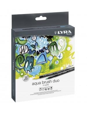 Caja 36 rotuladores Lyra Aqua Brush Duo