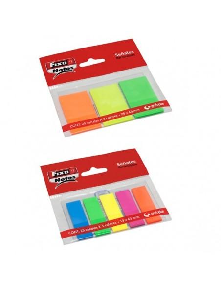 Pack 3 marcadores autoadhesivos removibles Grafoplas 65006280