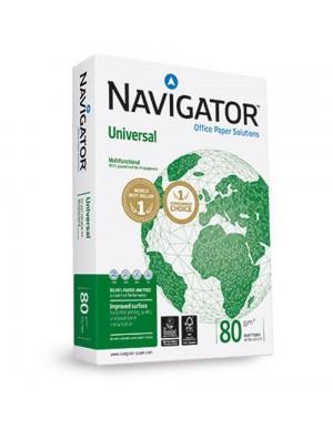 Pte. 500 hojas papel A-4 Navigator 80 gr.