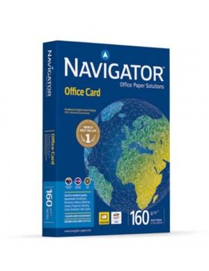 Pte. 250 hojas papel A-4 Navigator 160gr.