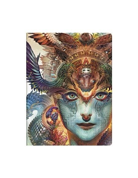 "Cuaderno rayado Paperblanks ""Dragón Dharma"" 180x230"