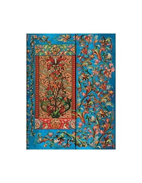 "Cuaderno hoja blanca Paperblanks ""Cascada Florentina"" 180x230 mm"