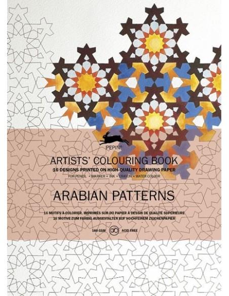 "Libro colorear Pepin Press ""Arabian Patterns """