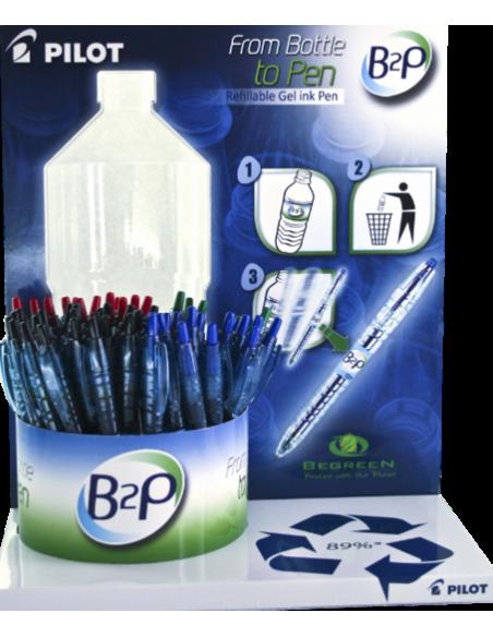 Bolígrafo Pilot reciclado B2P begreen
