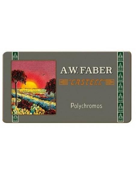 Estuche 111 aniversaro (2019), 12 lápices color Polychromos Faber Castell