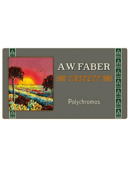 Estuche 111 aniversaro (2019), 36 lápices color Polychromos Faber Castell