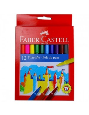 C/ 12 Rotuladores Faber Castell 554212