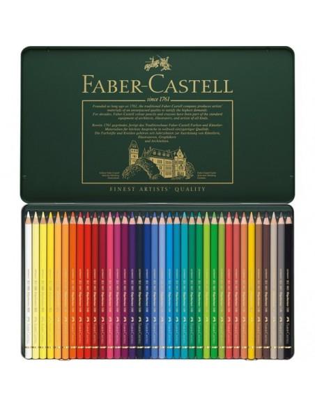 Estuche 36 color Polychromos Faber Castell