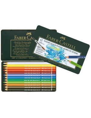 Estuche 12 lápices acuarelables ALBRECHT DURER de Faber-Castell 117512