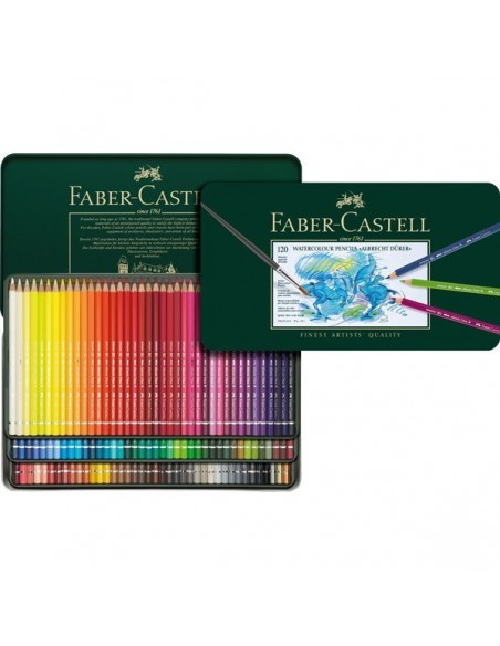 Estuche 120 lápices acuarelables ALBRECHT DURER de Faber-Castell