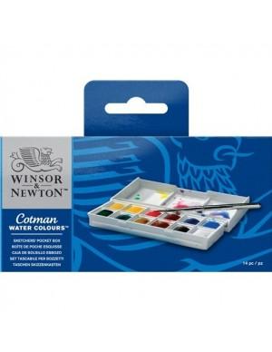 C/ 12 1/2 pastillas acuarelas Cotman (Winsor&Newton)