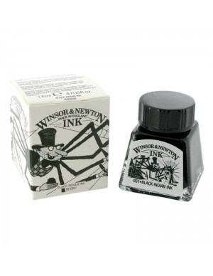 Tinta china 14 ml negra winsor&newton
