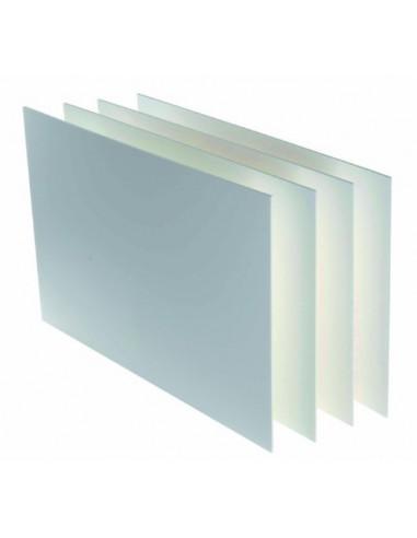 Carton pluma canson 70x100- 3 mm blanco