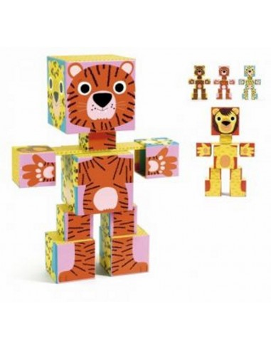 Puzzle Totem Cubes Animo